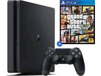 **BOXED PS4 SLIM + GTA 5**