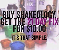 21 Day Fix/Shakeology Challenge Pack