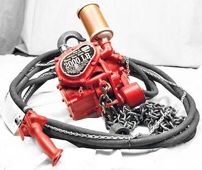 New Chicago Pneumatic Cp-1200 Tanhab Power Vane Chain Hoist - 1 Ton