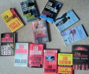 LISA SCOTTOLINE = Paperback Novels