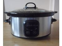 Sainsbury's Digital Slow Cooker- NEW!