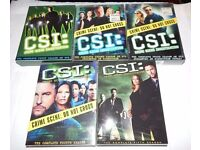 CSI - Crime Scene Investigation: Seasons 1-5 [DVD]