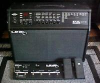 Line 6 ax2 - 212 with pedal switch