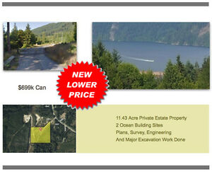 11.4+ Acres Zoned for 2 Homes and 46 Site RV Park!
