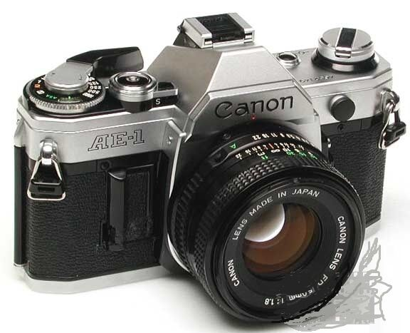 Canon AE-1 AE1 35mm Camera with 50mm f/1.8 Lens Excellent Working Conditions