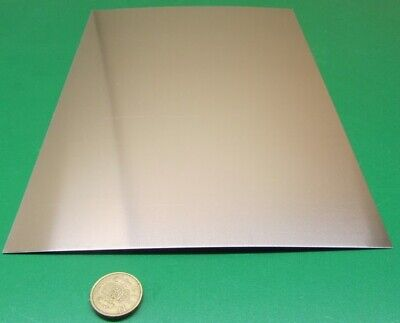 316 Stainless Steel Sheet Annealed .012 Thick X 8.0 Width X 12.0 Length