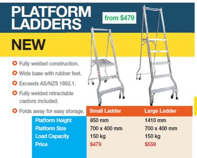 Platform Ladder - 3 Step