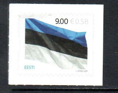 ESTONIA MNH 2009 SG599 125TH ANV OF NATIONAL FLAG