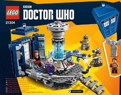 Lego Doctor Who (21304) IDEAS Instruction Manuel Dr Who