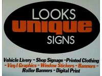 Van Signs - Shop Signs - Printed Clothing