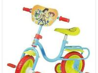 Brand new toy story 10in kids bike with staberlisers
