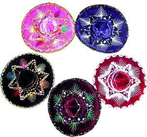 Wholesale-Sombrero-Lot-of-24-Mini-Charro-Hats-Fiesta-Wedding-Decorations-Party