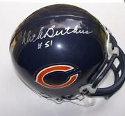 Chicago Bears Signed Mini Helmets
