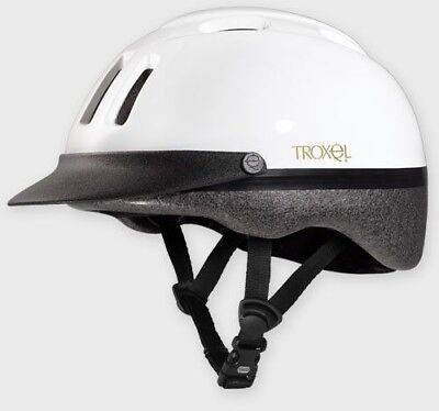 Troxel Sport Horse Riding Helmet Light Schooling Integrated Visor Cooling - Schooling Horse Riding Helmet