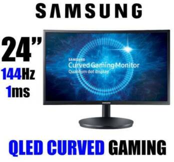 """*BRAND NEW* Samsung 24"""" Curved Gaming Monitor (RRP: $550)"""