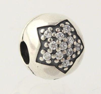 NEW Pandora Bead Charm You're A Star Clip Sterling Silver 791056CZ Pave Retired, occasion d'occasion  Expédié en Belgium
