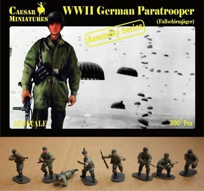 Caesar miniatures 1/72 WWII Alemán Paracaidista (Fallschirmjager) #7212