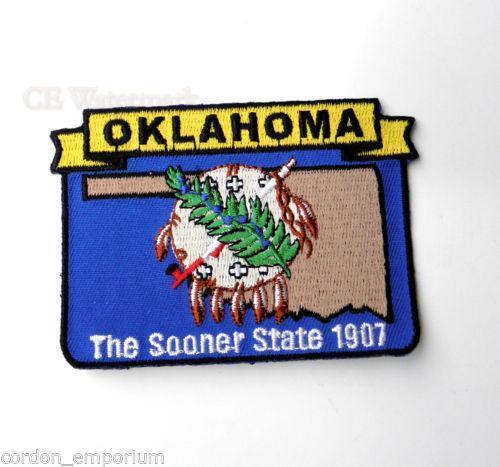 Oklahoma state patch ebay
