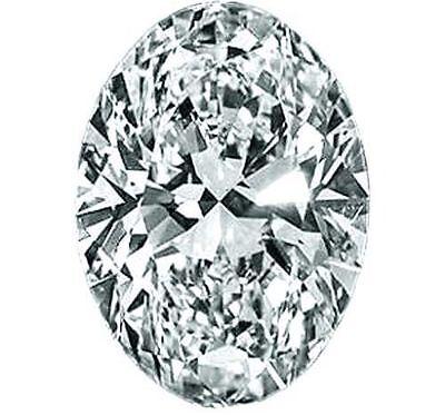 0.49 carat Oval Shape Loose Diamond GIA certified E color SI1 clarity