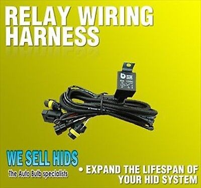 HID Wiring Harness dual H7 H1 fused Relay Loom Car Flickering problems Xenon h11