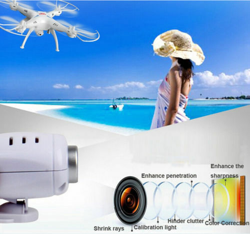 Купить Syma - Syma X5SW-V3 Wifi FPV Explorers 2.4G RC Quadcopter Drones With HD Camera White