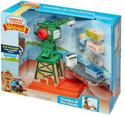Fisher Price - Thomas and Friends Wooden Railway - Cranky [New Toy] Tr