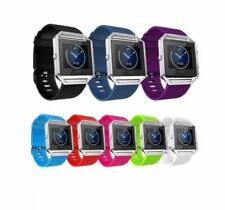 Hellfire Trading Replacement Wristband Bracelet Band Strap for Fitbit Blaze
