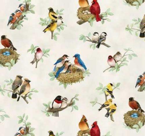 Bird Fabric Ebay