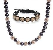 Shamballa Necklace Set