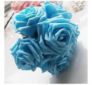 Artificial Blue Roses