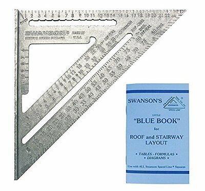 Swanson NA202 Metric Speed Square Layout Tool Aluminum