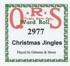 Player Piano Rolls Christmas
