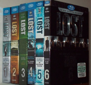 Lost the complete series on bluray