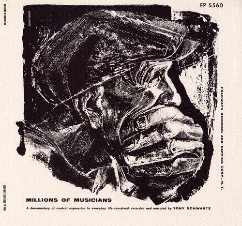 Tony Schwartz - Millions Of Musicians [new Cd]