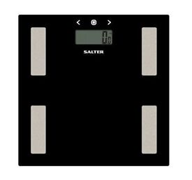 Salter Glass Analyser Scale black
