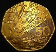 D Day 50 Pence