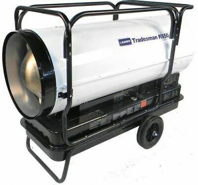 L.b. White Tradesman K650 Heater 650000 Btuh Kerosene 1 Or 2 Fuel Oil