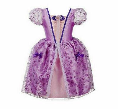 Mädchen Sofia die erste Prinzessin Kostüm Outfit Geburtstag - Sofia Die Erste Outfit