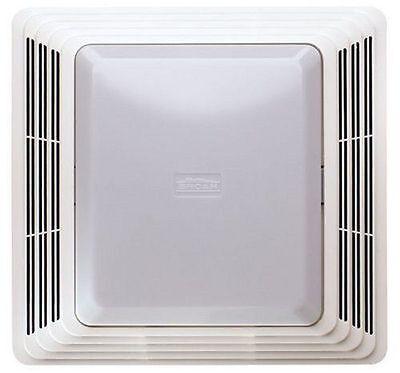 50 Cfm Exhaust Fan - 50 Cfm Broan Ventilation Fan Light Combo Bathroom Exhaust Celing Vent Home Quiet