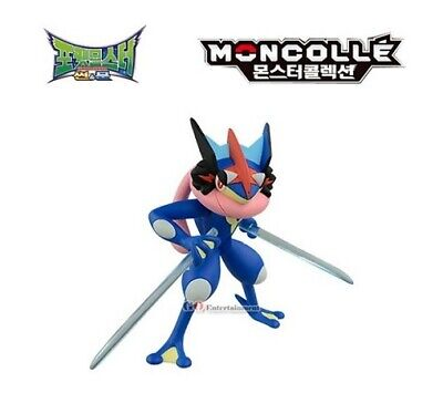 Takara Tomy Pokemon Sun and Moon ESP-04 Toys Ash Greninja Action Figure_amga