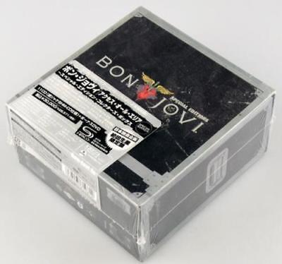 """Bon Jovi """"The Album Collection"""" 11 CDs + 1 DVD Japan Special Edition Box Set"""
