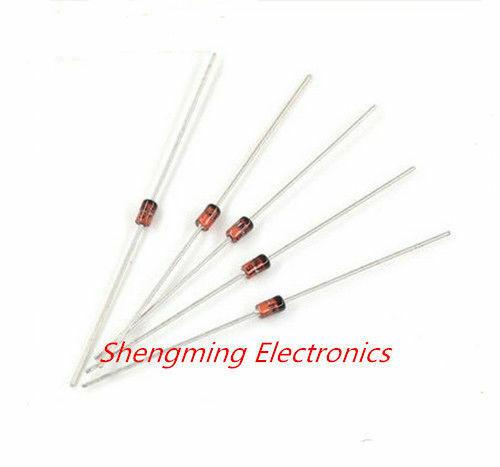 50pcs 1W Zener diode 3V~30V 3V 3V6 3V9 4V3 4V7 5V1 5V6 6V2 6V8 7V5 8V2 9V1 12V