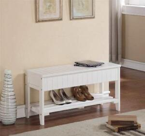 Brand New Shoe Bench, solid wood