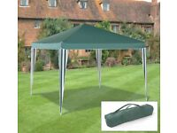 Green 3m x 3m pop up gazebo