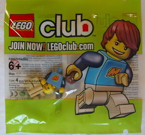 NEW-LEGO-CLUB-MAX-MINIFIG-sealed-polybag-set-minifigure-guy-rare-package-852996