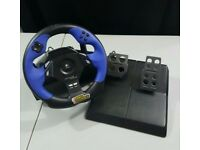 Logitech DRIVING FORCE USB Steering Racing Wheel & Pedals