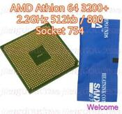 AMD Athlon 64 3200 Socket 754