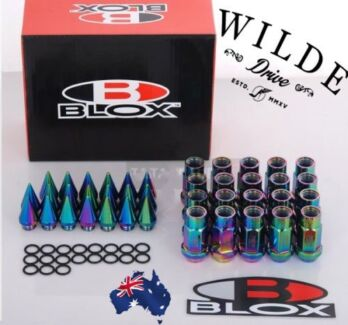 BLOX Forged Long Spike Lug Nuts NISSAN SUBARU SUZUKI M12 X 1.5