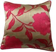 Red Sofa Cushions