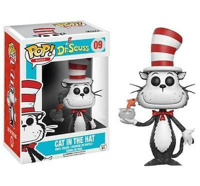 Exclusiv Dr.Seuss - Katze Im Hut mit Fisch Schüssel 3.75 Pop Vinyl Figur Funko